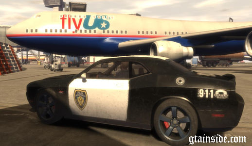 2012 Dodge Challenger SRT8 392  Liberty City Police Department