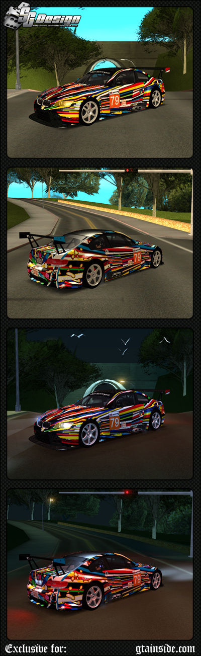 BMW E92 M3 GT2 #79 - Stock