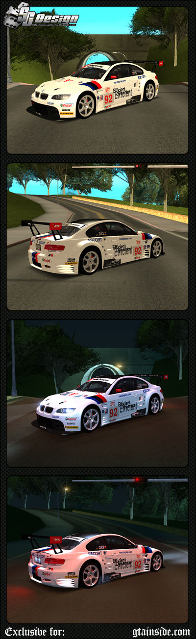 BMW E92 M3 GT2 #92 - Stock