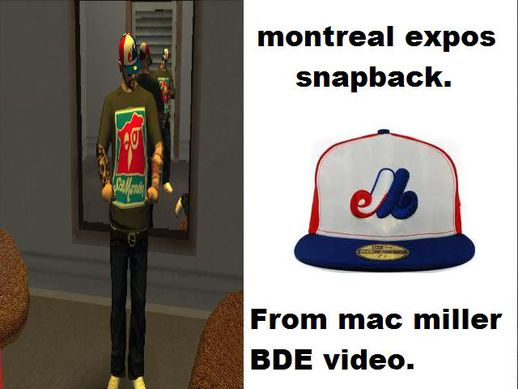 Montreal Expos Snapback