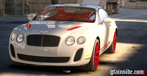 Bentley Continental SuperSports ISR Paintjob