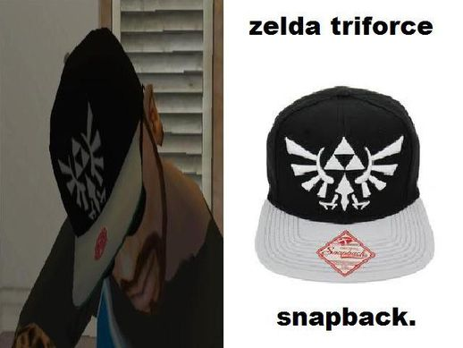 ZELDA Triforce Snapback