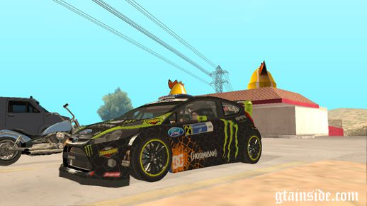 2013 Ford Fiesta H.F.H.V. Ken Block More Liveries