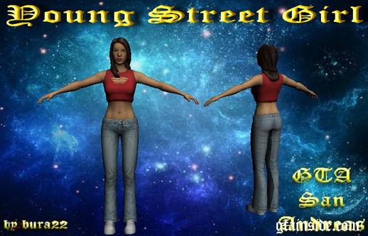 Young Street Girl