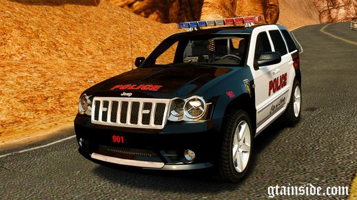 Jeep Grand Cherokee SRT8 2008 Police