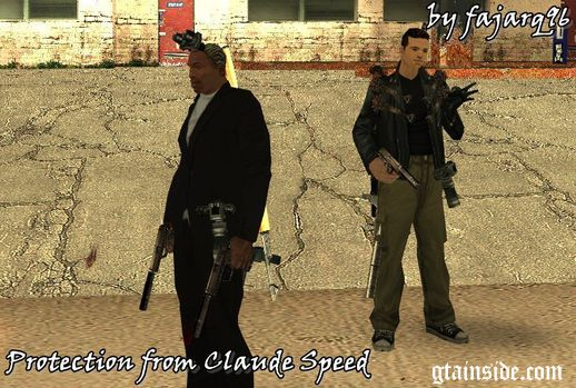 Call Claude from GTA III for your protection
