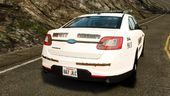 Ford Taurus 2010 CCSO Police [ELS]