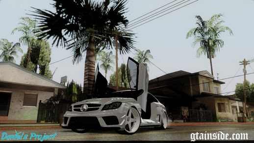 Mercedes Benz C63 AMG Black Edition [ImVehLM]