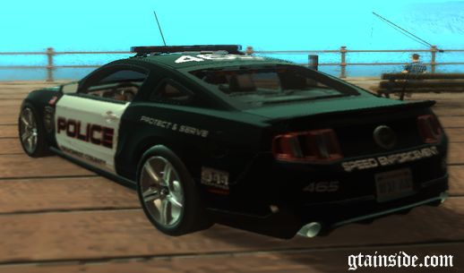 2011 Ford Mustang GT (Speed Enforcement)