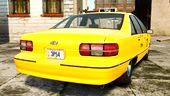 Chevrolet Caprice 1991 LCC Taxi