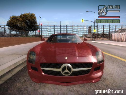 Mercedes-Benz SLS AMG V12 TT Black Revel