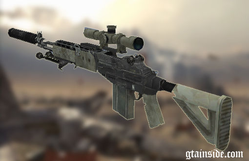 Sniper Rifle From MW2