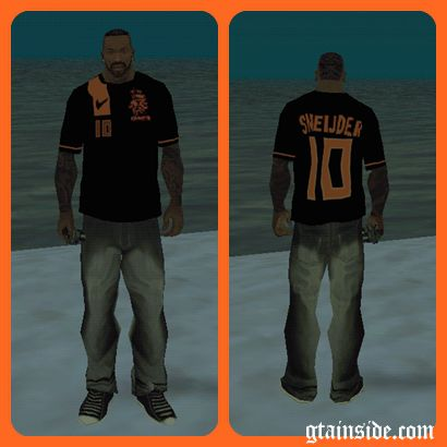 Paises Bajos Sneijder T-Shirt