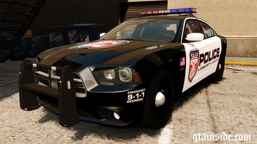 Dodge Charger R/T Max Police 2012