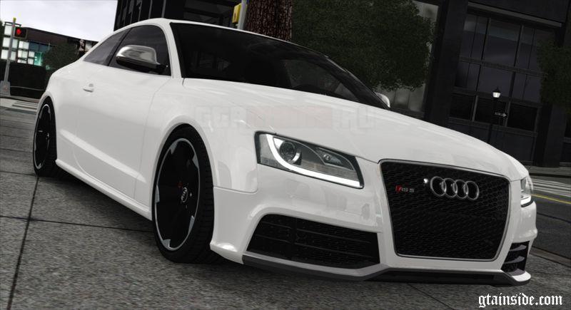 GTA Audi RS V Mod GTAinsidecom - Audi car gta 5
