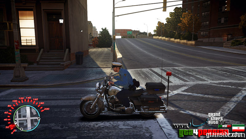 GTA 4 Police Bike Mod - GTAinside com