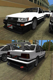 Toyota Levin AE86 Coupe 4type