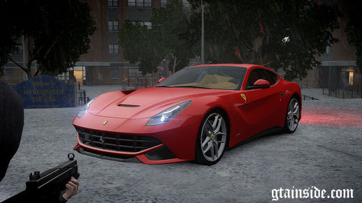 Ferrari F12 Berlinetta Stock