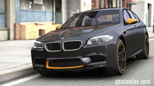 BMW M5 F10 Aige-edit Paintjob