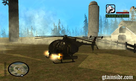 MW 2 AH-6 Little Bird