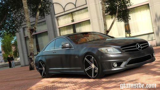 Mercedes Benz CL65 AMG Vossen Edition