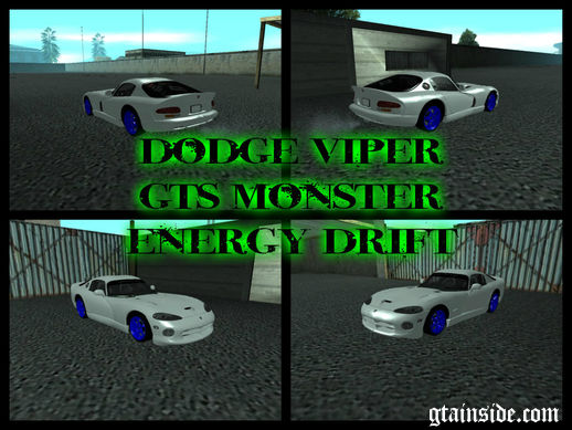 Dodge Viper GTS Monster Energy Drift