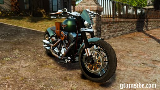 Harley Davidson Fat Boy Lo Racing Bobber