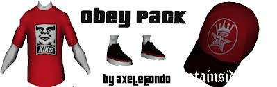 Obey pack for CJ