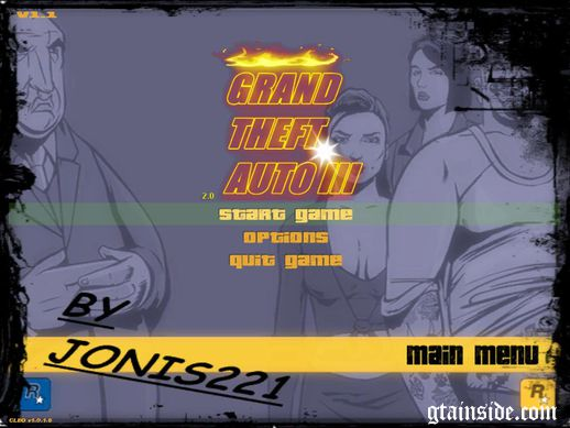GTA III 2.0 Background