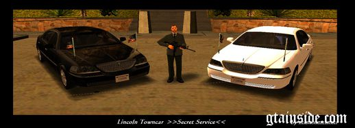 Lincoln Towncar Secret Service