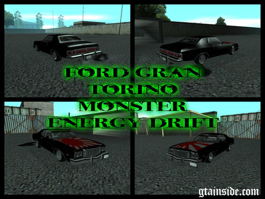 Ford Gran Torino Monster Energy Drift