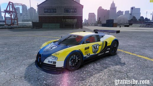 Bugatti Veyron 16.4 Body Kit Final NFS SHIFT 2