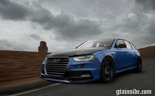 Audi RS4 Sport Paintjob