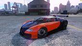 Bugatti Veyron 16.4 Body Kit Final Stock  NFS SHIFT 2