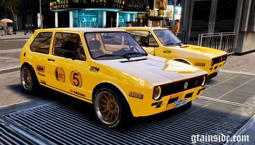 VW Golf GTI MK1 Rally