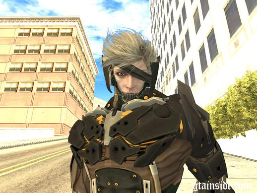 Raiden Metal Gear Rising