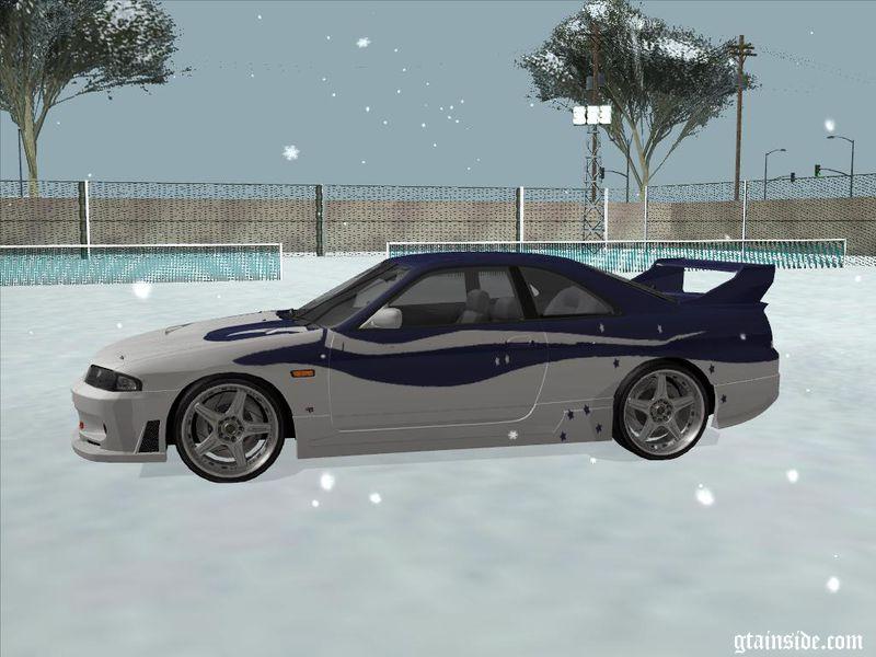 Gta San Andreas Nissan Skyline Tokio Drift Mod Gtainside Com