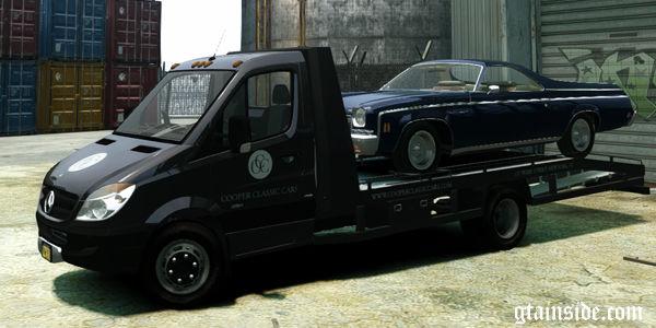 gta 4 mercedes benz sprinter 3500 car transporter v1 4. Black Bedroom Furniture Sets. Home Design Ideas