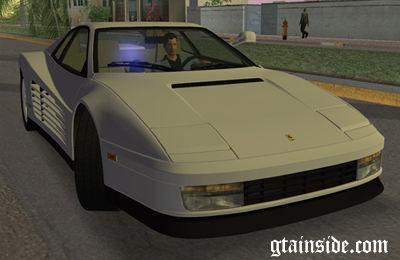 Gta 3 Ferrari Testarossa 1986 Miami Vice Testarossa Mod Gtainside Com