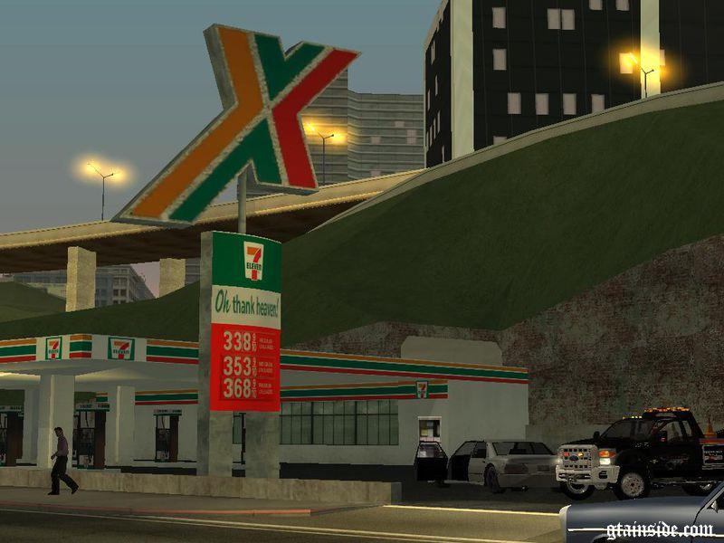Ta Petro Com >> GTA San Andreas 7 Eleven Gas Station Mod - GTAinside.com