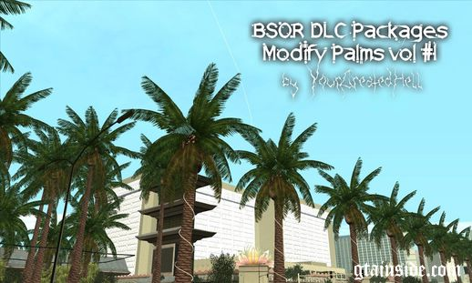 BSOR DLC Packages: Modify palms vol #1