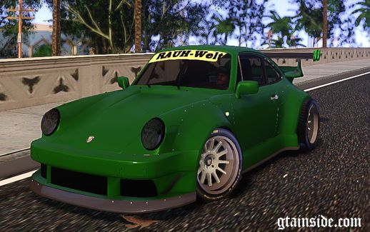 Porsche 911 Turbo RWB Pandora One Beta