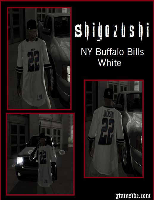 NY Buffalo Bills White