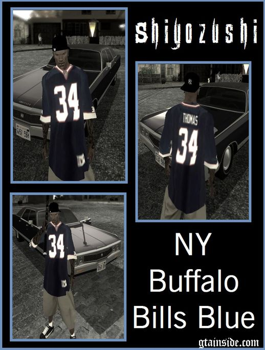 NY Buffalo Bills Blue