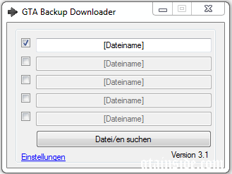 GTA Backup Downloader V3.2