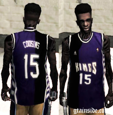 Retro Sacramento Kings 2013 Demarcus Cousins