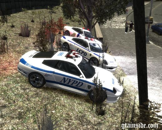 GTAIV Comet Police
