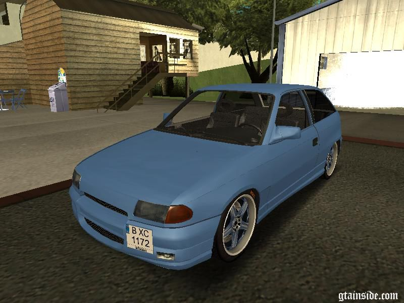 gta san andreas opel astra f tuning mod. Black Bedroom Furniture Sets. Home Design Ideas