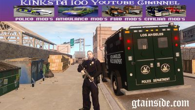 GTA 4 Police Swat Assault Truck Mod - GTAinside.com
