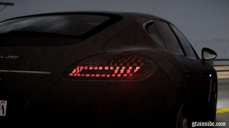 Porsche Panamera Turbo 2010 Black Edition